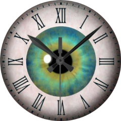 eye blueeye hazeleye clock myfavorites freetoedit