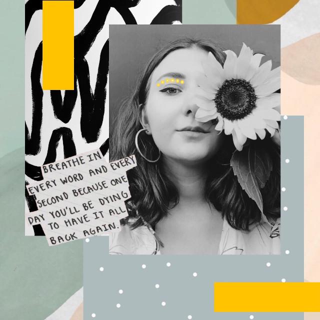 #freetoedit #art #artsy #love #sunflower #madewithpicsart #picsarty #travel #photography #bw #cool #aesthetics #heypicsart #picsartlove #remixed #cute #blackandwhite #sunflowers #yellow #aesthetic  #remixed from @skulledits