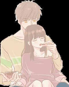 couple animecouple love romance shoujo freetoedit