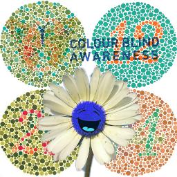 freetoedit colourblindnessawarenessday 1in12 1ineveryclass daisy