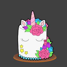 dcbakeacake bakeacake cake unicorncake drawingchallenge