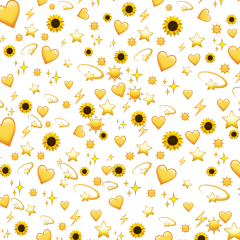 freetoedit emoji yellow tikokstickers emojibackground