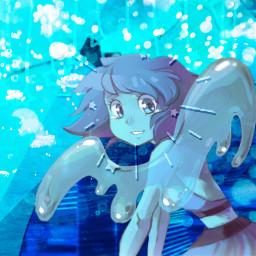 stevenuniverse lapislazuli lapis lazuli water freetoedit