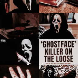 ghostface scream myedit graphicedit freetoedit