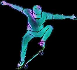 flow skate skateboarding skaters skating freetoedit