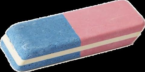 eraser erase school backtoschool blue freetoedit