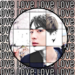black aestetic freetoedit love jin