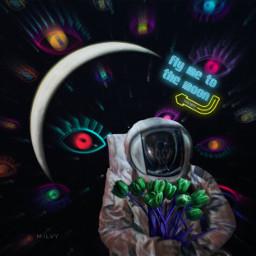 createdoniphone editstepbystep mycreation fantasy space