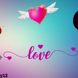 freetoedit hearts colorfulbackground love