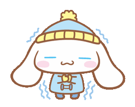 #cinnamoroll #sanrio #cute #winter #cold