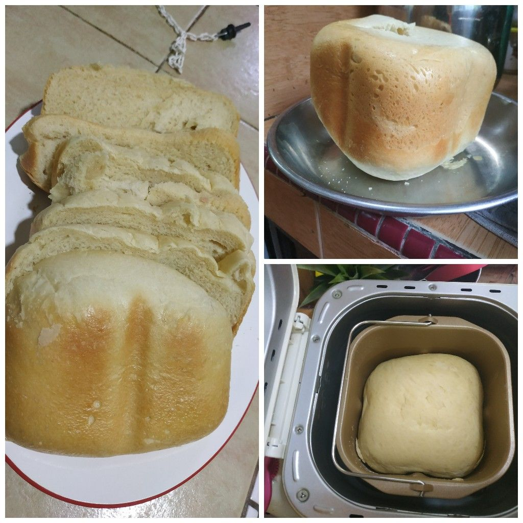 Ruth's first try homemade bread ^ ^ good job!