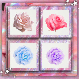 freetoedit holographicbackgrounds rosesticker colorful