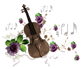 violin music notes pearls grace freetoedit