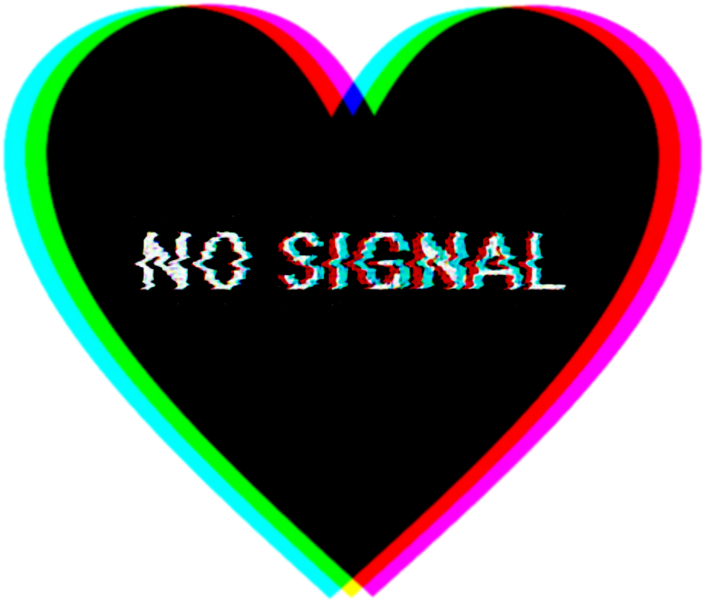 #heart #nosignal #freetoedit