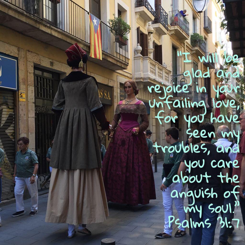 #Prayingthepromises #prayingthepsalms Psalms 31:7