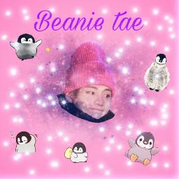 beanietae pinguin cute bangtanseonyeondan stars freetoedit