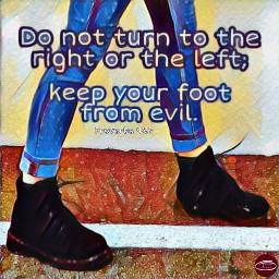 foot right left bibleverse bible freetoedit ircinmotion