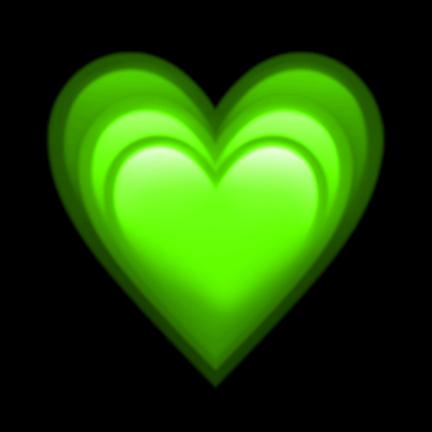 #heartemoji #heartemojis #green #lime #neon #greenemoji #greenemojis #iphone #emoji #emojis