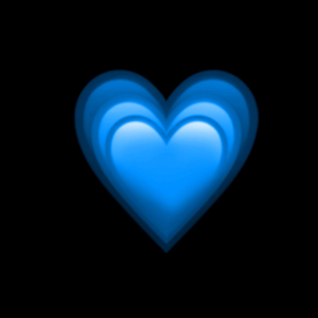 #heart #blue