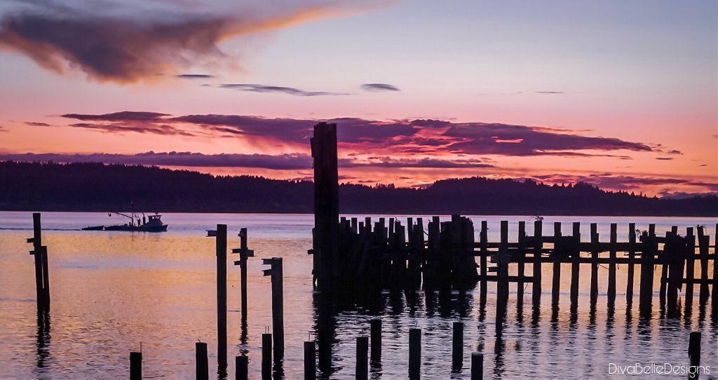 Sunset at titlow