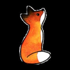 fox renard aesthetic orangeaesthetic orange freetoedit
