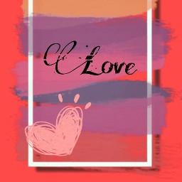 letters pink heart love wallpaper