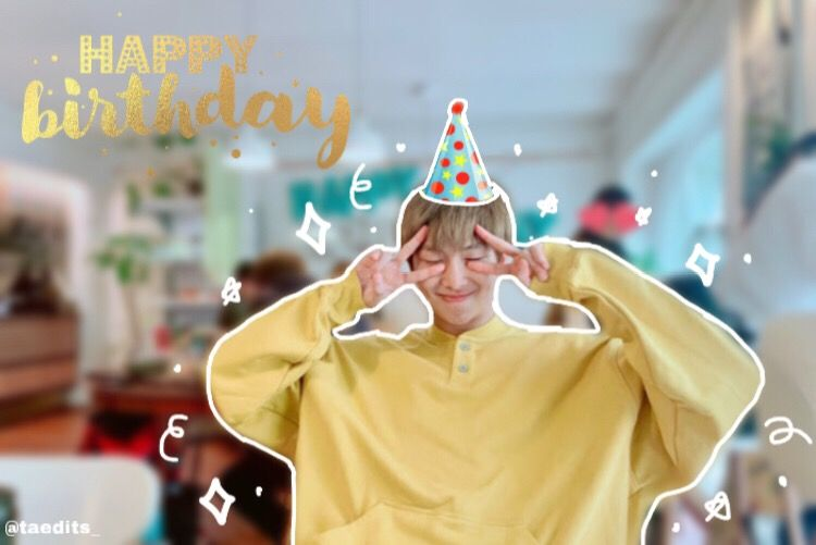 Happy birthday to our amazing, talented and beloved leader! I wish him a very happy birthday! 😭❤️🥳