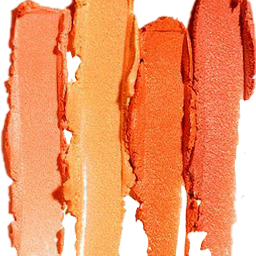 freetoedit brushstroke scorange orange