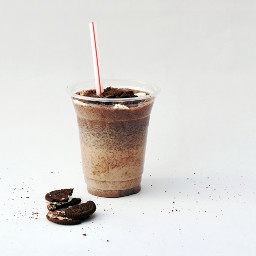 chocolate milkshake yummy freetoedit