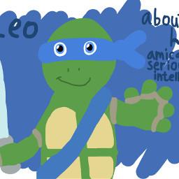 freetoedit turtle leo ninjaturtles teenagemutantninjaturtles