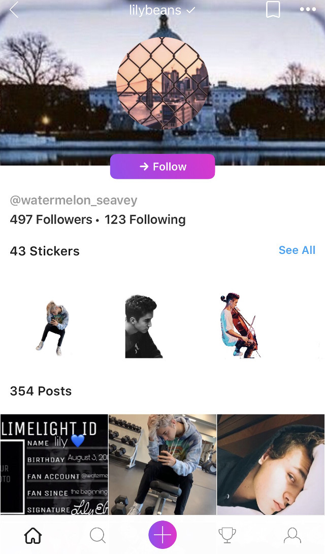 Go follow this girl @watermelon_seavey get her to 500!!! She's so close only three more.