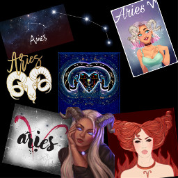 zodiac aries freetoedit