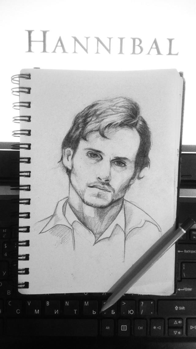 #freetoedit #drawing #art #hannibal #willgraham