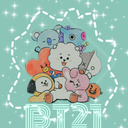 bt21 bts family army freetoedit