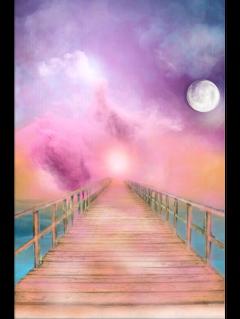 freetoedit ftestickers bridge wooden clouds