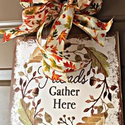freetoedit bow ribbon sign decor