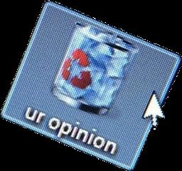aesthetic funny computer cursor trash freetoedit