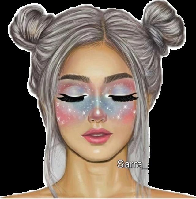 #makeup #colorful #fille #tumblr #tumblrgirl #girl #magnifique