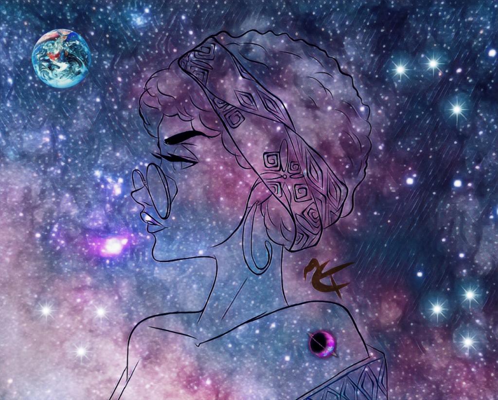 #freetoedit #galaxy #lady #pleasedontsteal