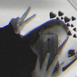 blackheart🖤 freetoedit blackheart