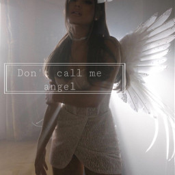 arianagrande ariana ari sweetener angel freetoedit