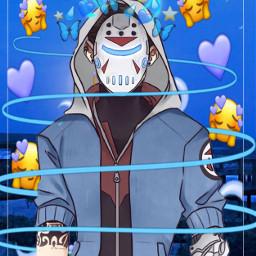 freetoedit blue delirious h20delirious robot