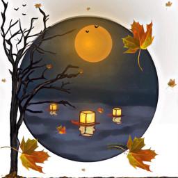 autumnnight drawingcollaboration dcautumn