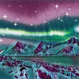 freetoedit mountians edit stars colours ircmountains