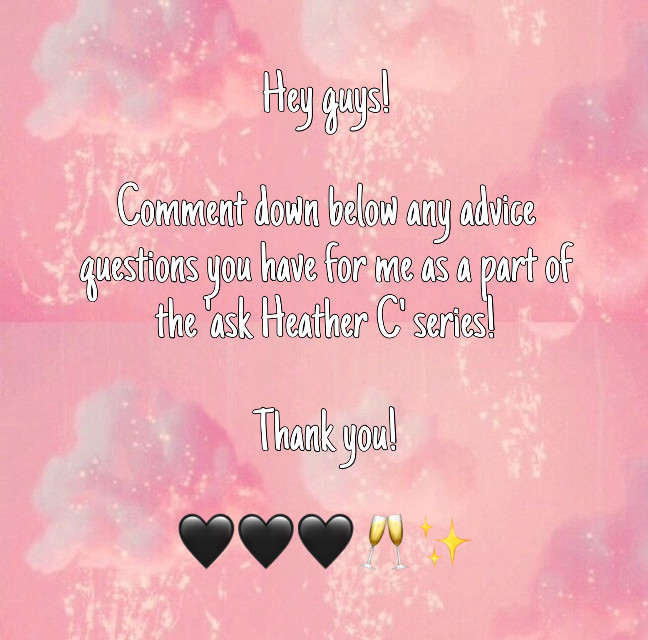 It can literally be anything, and if you want it to be anonomys just dm me!  As always, my dms are open!  Love you 🖤🖤🖤🐳  xoxo, @heatherc6767     . #freetoedit