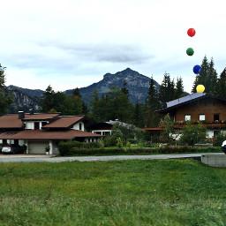 photography nature mountain house austria freetoedit