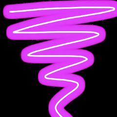 spiral neon purple freetoedit