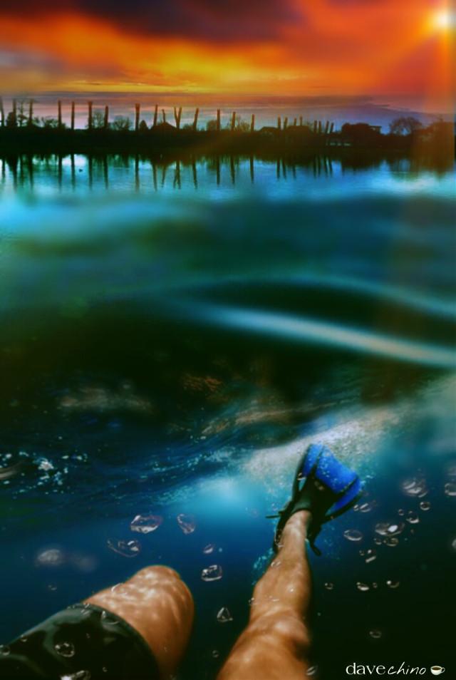 #vipshoutout to @4asno4i #ocean #underwater #diving @freetoedit @picsart #conseptual #madewithpicsart #be_creative #myart #myedit