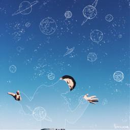 freetoedit invisible invisibleman space planets ircblackandblue