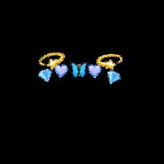 emojicrown crown emoji star butterfly
